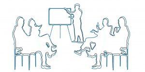 Präsentationstechnik und Moderationstechnik - Bild zum Training