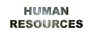 Human Ressource - der PFK-ler regelt die Angelegenheiten bezüglich des Personals in der Firma.