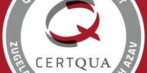 Zertifizierung Sigel der CertQua für die AZAV