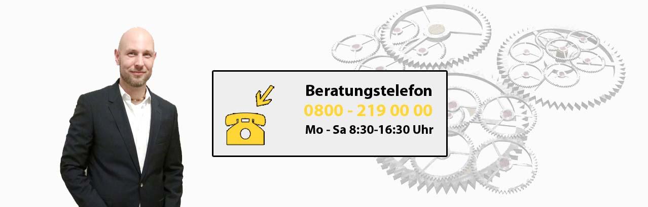 Bild zur Hotlinenummer für eine kostenfreie Beratung zum Industriemeister Metall Lehrgang.