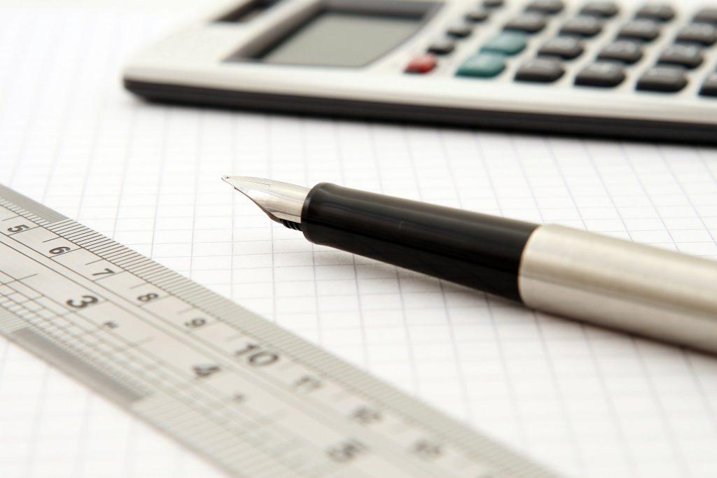 Taschenrechner für den Bachelor professional in Bilanzbuchhaltung. - Bild