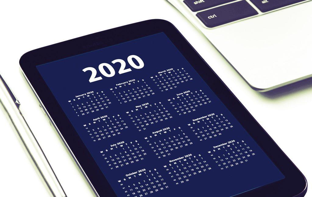 2020 - Neue Termine