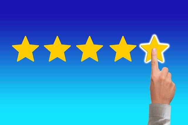 Hohe Qualität in Ihrem Lehrgang. 5 Sterne.