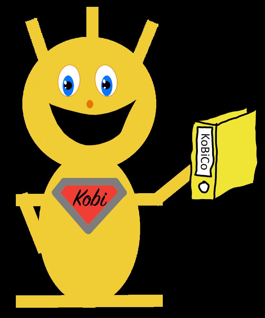 Kobi mit KoBiCo Ordner